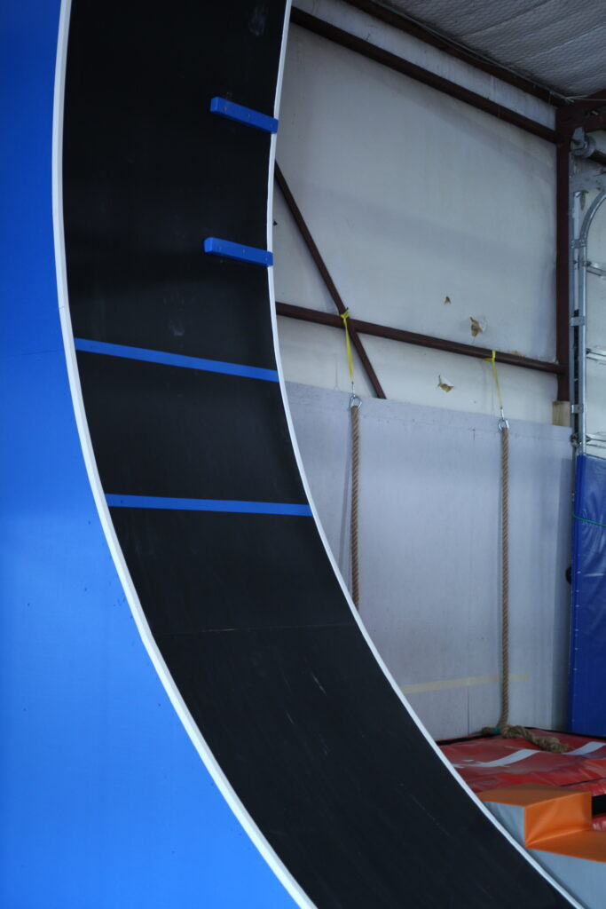 15 Foot Warped Wall